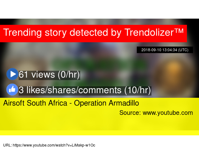 Airsoft South Africa - Operation Armadillo